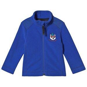 Poivre Blanc Embroidered Micro Fleece Jacket True Blue 3 years