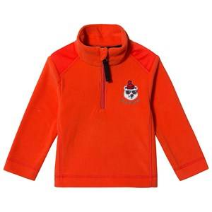 Poivre Blanc Embroidered Micro Fleece Sweater Clementine 6 years