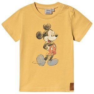 Wheat T-Shirt Mickey Retro Dark Straw 74 cm (6-9 Months)