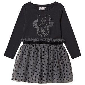 Wheat Jersey Dress Minnie Dark Grey 92 cm (1,5-2 Years)