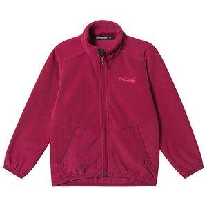 Image of Bergans Lilletind Fleece Jacket Beet Red 104 cm (3-4 Years)