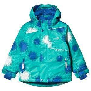 Muddy Puddles Blizzard Jacket Green Urchin Ski jackets