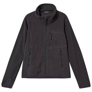 Bergans Runde Fleece Jacket Solid Charcoal 152 cm (11-12 Years)