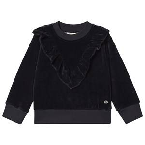 Emma och Malena Violetta Sweater Velour 110/116 cm