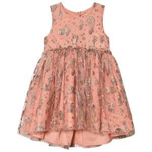 Wheat Dress Tulle Snow White Soft Rouge 104 cm (3-4 Years)