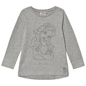 Wheat T-Shirt Snow White Rhinestones Grey Melange 110 cm (4-5 Years)