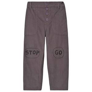 nadadelazos Stop and Go Pants Steel Grey 18-24 Months