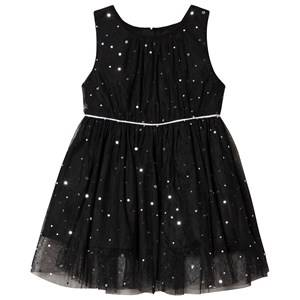 Jocko Baby Dress with Silver Dots Black 92 cm (1,5-2 Years)