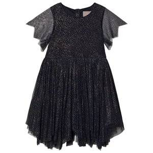Image of Creamie Gold Dot Dress Total Eclipse 122 cm (6-7 Years)