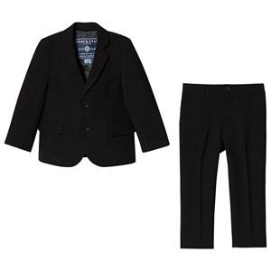 Andy & Evan Twill Suit Black 18-24 months
