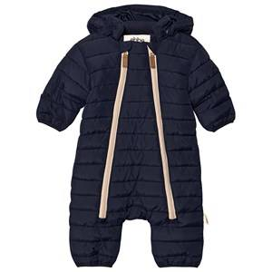 ebbe Kids Damon Quilted Snow Suit Deep Lake Blue 80 cm (9-12 Months)