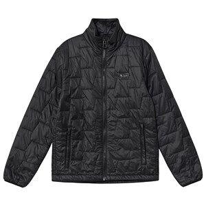 Image of Helly Hansen Junior Lifaloft Insulated Mid Layer Black Shell jackets