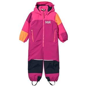 Image of Helly Hansen Color Block Kids Rider 2 Ski Suit Pink Ski suits