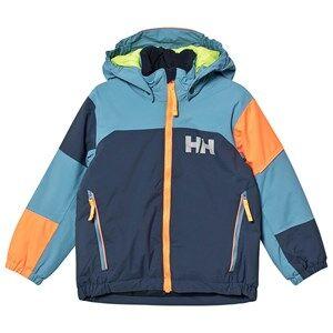 Image of Helly Hansen Color Block Kids Rider Ski Jacket Dark Blue Ski jackets