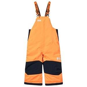 Helly Hansen Orange Kids Rider Ski Bib Pants Ski pants and salopettes