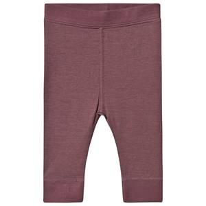 Image of Hust&Claire; Laso Leggings Plum 68 cm (4-6 Months)