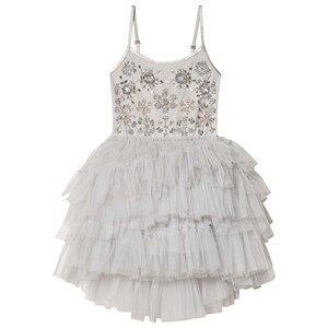Tutu Du Monde Frozen in Time Embellished Tutu Dress Silver 12 years