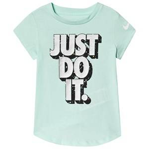 NIKE Just Do It Starry Night T-Shirt Teal 5-6 years