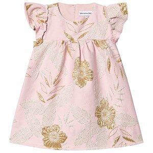 Christina Rohde Dress Silver/Gold Rose Glitter 7 Years