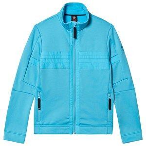 Poivre Blanc Full Zip Stretch Fleece Aqua Blue 12 years