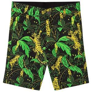 Stella McCartney Kids Palms Shorts Black/Multi 2 years