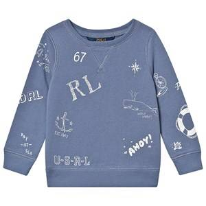 Ralph Lauren Nautical Sweatshirt Blue 5 years