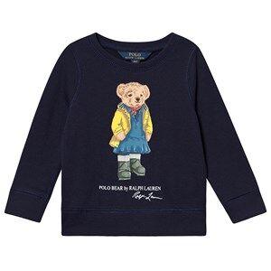 Ralph Lauren Polo Bear Sweatshirt Navy L (12-14 years)