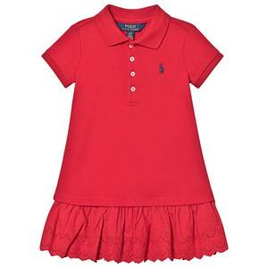 Image of Ralph Lauren Polo Dress Red XL (16 years)