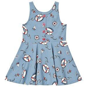 Ralph Lauren Nautical Dress Blue 2 years