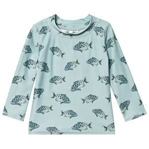 Image of Soft Gallery Baby Astin Rash Guard Tee Jadeite 24 Months