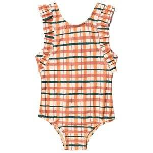 Image of Soft Gallery Ana Baby Swimsuit Winter Wheat 18 Months
