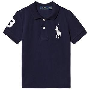 Ralph Lauren Big Logo Polo Navy 3 years