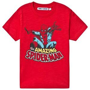Fabric Flavours Spiderman Tee Red 7-8 Years