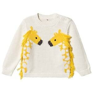 Stella McCartney Kids Giraffe Sweater White 36 months