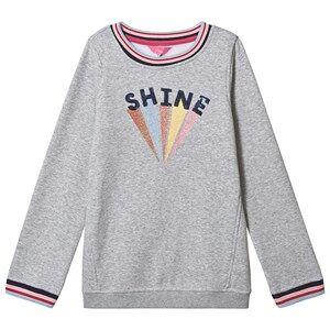 Tom Joule Viola Shine Applique Sweatshirt Grey 4 years