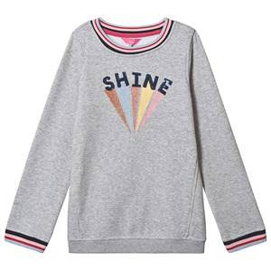 Tom Joule Viola Shine Applique Sweatshirt Grey 6 years