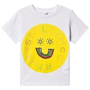 Stella McCartney Kids Logo Tee White 4 years