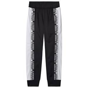 Image of adidas Originals Logo Track Pants Black 7-8 years (128 cm)