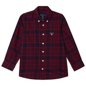 GANT Check Shirt Mahogany Red 110-116cm (5-6 years)