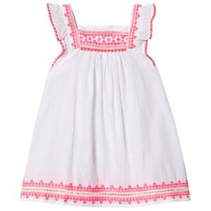 Image of Sunuva Embroidered Dress White 5-6 years