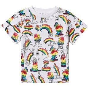 Stella McCartney Kids Art Monsters T-shirt White 6 years