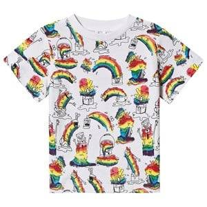 Stella McCartney Kids Art Monsters T-shirt White 8 years