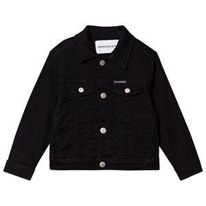 Image of Calvin Klein Jeans Trucker Denim Jacket Black 8 years
