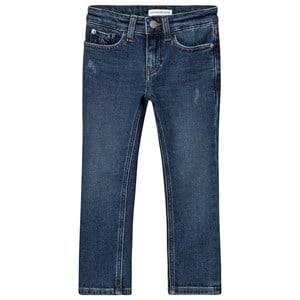 Calvin Klein Jeans Slim Authentic Jeans Clean Blue 6 years