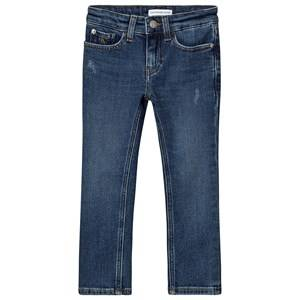 Calvin Klein Jeans Slim Authentic Jeans Clean Blue 4 years