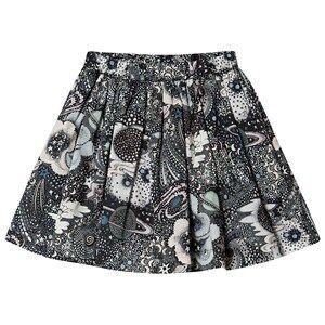 Bonpoint Constellation Liberty Print Skirt 10 years