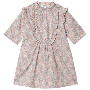 Bonpoint Floral Liberty Print Dress Pink 6 years