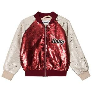 Molo Hubertha Jacket Carmine Red 140 cm (9-10 Years)