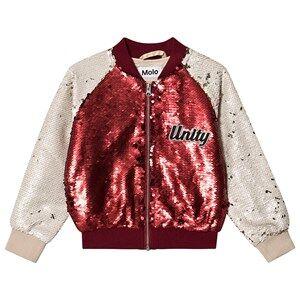Molo Hubertha Jacket Carmine Red 128 cm (7-8 Years)
