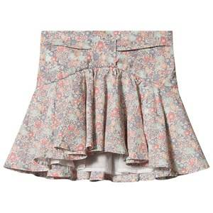 Image of Bonpoint Pink Floral Liberty Print Bow Detail Skirt 4 years